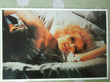 80s Marilyn MONROE POSTCARD 1956 Bus Stop in bed