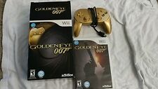 GoldenEye 007 Limited Edition (Gold Controller Inside) (Nintendo, Wii) 2010