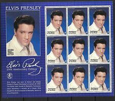 ANTIGUA SG3622a2002 25th DEATH ANNIV OF ELVIS PRESLEY  SHEETLET  MNH