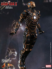 "Hot Toys Iron Man 3 MARK XLI 41 BONES 12"" Action Figure 1/6 Scale MMS251Skeleton"