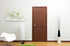 "24"" X 80"" Modern Interior Door With Frame Included No Pre Hung Light Sapele"