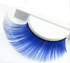 Colorful Thick Plus Long False Eyelash Costume Party Fashion Eye Lashes