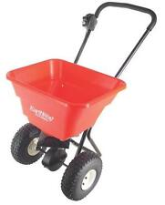 EARTHWAY 2050P USA MADE 50LB LAWN BROADCAST HEAVY PUSH SPREADER PNEUMATIC TIRES