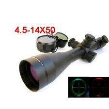 NEW 4.5-14X50 M1 Mil-dot Illuminated Riflescopes Rifle Scope Hunting Scope Stock