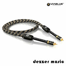 ViaBlue 0,5m S/P-DIF-Kabel NF-75 / Koaxial Digital Cinch / 75 Ohm /0,50…High End
