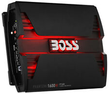 BOSS Audio PT1600 Phantom 1600W 2 Channel Full Range, Class A/B Amplifier