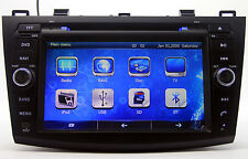 "8"" Touch Screen Auto Car Radio DVD Player GPS Navigation For Mazda 3 2010-2012"