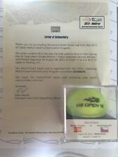 Almagro vs. Stepanek 2012 US Open MATCH POINT Used Tennis Ball - MEIGRAY LOA