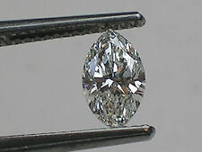 0.48 ct GIA Certified Loose Marquise Diamond; I Color; VVS2; Laser Inscribed