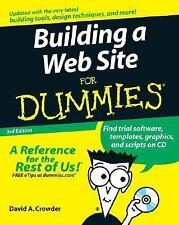 Building a Web Site by David A. Crowder (2007, Paperback, Revised)