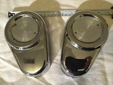 SET of HARLEY BRAKE CALIPER COVERS TOURING SOFTAIL BAGGER GLIDE ROAD STREET OEM