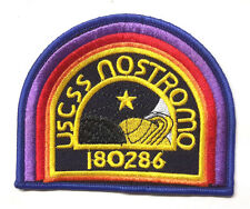 "ALIEN Movie- USSC Nostromo Crew Embroidered 4"" Patch-Dark Blue (ALPA-60-ND)"