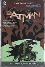 BATMAN NIGHT OF THE OWLS DC NEW 52 HARDCOVER GN TPB NIGHTWING BATGIRL SEALED NEW