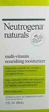 Neutrogena Naturals Multi-Vitamin Nourishing Facial Moisturizer 3 Fl. OZ. Ea