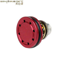 Ball Bearing Metal Piston Head Upgrade Par for Airsoft Marui AEG Ver.2/3 Gearbox