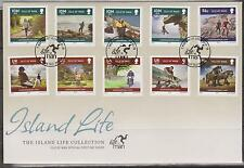GB - ISLE of MAN 2010 The Island Life Scenes Collection SG 1557/66 HORSES SPORT