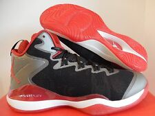 NIKE AIR JORDAN SUPER.FLY 3 X SLAM DUNK BLACK-VAR RED-WHITE SZ 10.5 [718154-005]