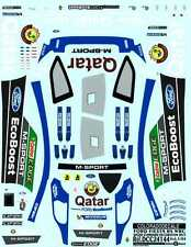 Colorado Decals 1/24 FORD FIESTA RS WRC QATAR STANDARD DECORATION 2013