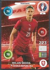 PANINI EURO 2016 ADRENALYN XL CARD- #057-CZECH REPUBLIC-MILAN SKODA