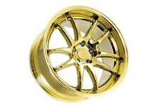 18x9.5 Aodhan Ds02 5x114.3 +30 Gold Vacuum Rims Aggressive Fits Tc Rx8 Speed 3