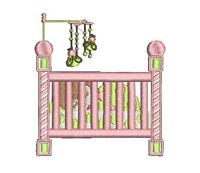 BABY GIRL -  20 MACHINE EMBROIDERY DESIGNS