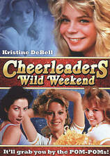 Cheerleaders Wild Weekend DVD Kristine DeBell (Scorpion/Code Red) SEALED OOP