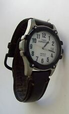 TIMEX EXPEDITION Indiglo  Leather Band Watch
