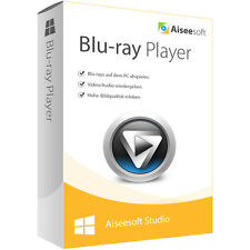BLU-Ray Player aiseesoft Dt. versione completa-a vita LICENZA ESD download