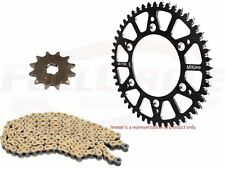 CRF250 Sprocket & Chain Kit JT 13 Tooth Mika Aluminum Black 49 Tooth Gold Chain