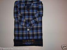 2 Piece Club Room Flannel Pajamas Sleepwear Loungewear Set ~ Size XL  ~ NWT