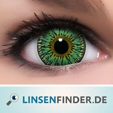 "BigEyes Circle Lenses Grün ""Princess Green"" Kontaktlinsen + GRATIS Behälter"