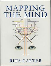 Mapping the Mind by Rita Carter (1999) Hardcover / DJ 1ST EDITION, ILLUSTRATED
