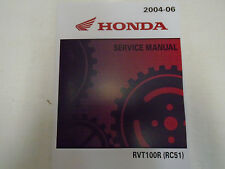 2004 2005 2006 Honda RVT1000R RC51 Service Repair Shop Manual NEW FACTORY OEM
