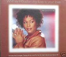 Whitney Houston My Love is Your Love CD Single