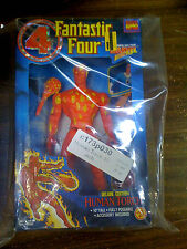 MARVEL Fantastic 4 Human Torch Deluxe Edition Figure Toybiz NEW FREE SHIP US