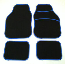 Black & Blue Car Mats For Bmw E34 E36 E46 E34 E87