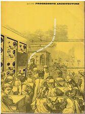 rivista - PROGRESSIVE ARCHITECTURE ANNO 1968 NUMERO 4
