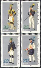 Germany 1978 Gala Uniforms/Mining/Minerals/Miners/Industry/Workers 4v set n41796