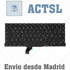"Keyboard Spanish for MACBOOK PRO Retina 2013 13"" ME866LL/A A1502 WITHOUT BACKLIG"