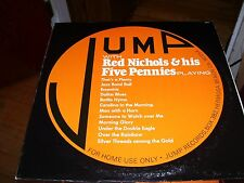RED NICHOLS & HIS FIVE PENNIES PLAYING ON JUMP RECORDS-LP-NM-JAZZ