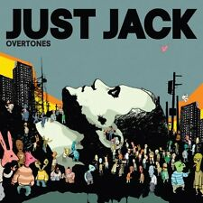 JUST JACK - OVERTONES (VERY GOOD CONDITION CD) inc STARZ IN THEIR EYES
