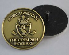 2014 OFFICIAL (Royal Liverpool) British Open BALL MARKER w/Stem