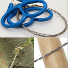 Stainless Steel Camping Hiking Wire Saw Emergency Travel Survival Gear