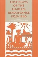 Lost Plays of the Harlem Renaissance 1920-1940 (African American Life Series)