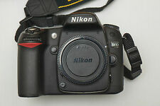 Nikon D80 Digital SLR camera body, charger+bag only 5812 actuations, 10.2mp