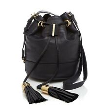 See By Chloe Black Vicki Small Bucket Bag Leather