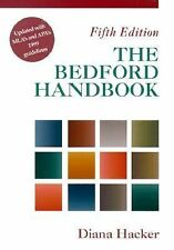 Bedford Handbook 1999 MLA and APA Updates by Diana T. Hacker (2000, Paperback)