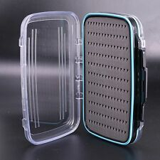 Waterproof Double Side Fly Fishing Box Fly Box Fishing Tackle Box--186*116*40mm