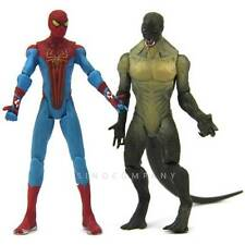 New Lot 2 Marvel Universe The Amazing Spider-Man & Lizard Reptile Figure FK391