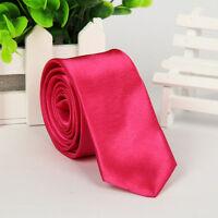 11 Colors Tie Solid Color Plain Solid Silk Men's Jacquard Woven Necktie BLACK